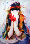 Evie watercolor alexander klevan
