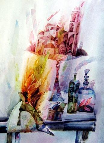 Limpidity watercolor alexander klevan