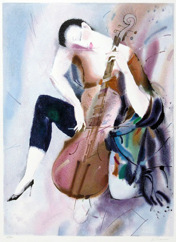 The Cellist I print alexander klevan