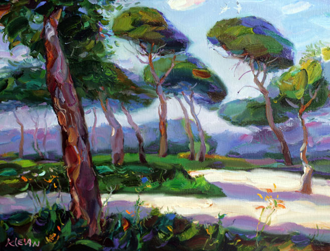 The tel aviv forest oil Alexander Klevan