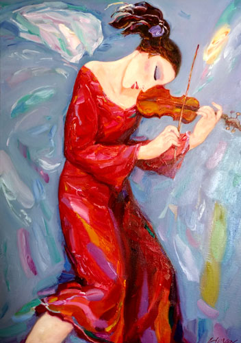 The Music flight oil alexander klevan