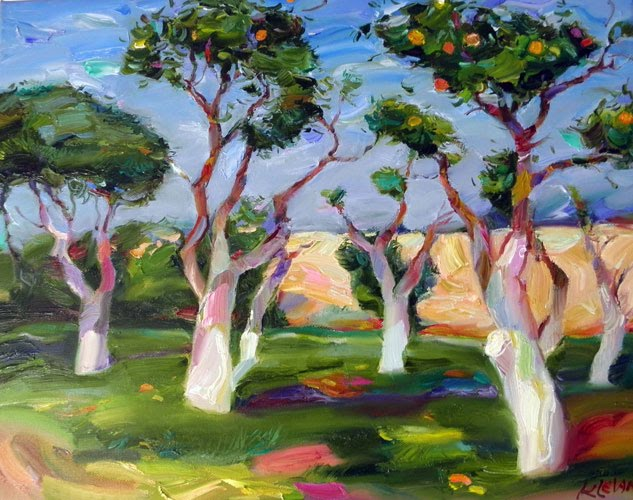 The Tel Aviv garden oil alexander klevan